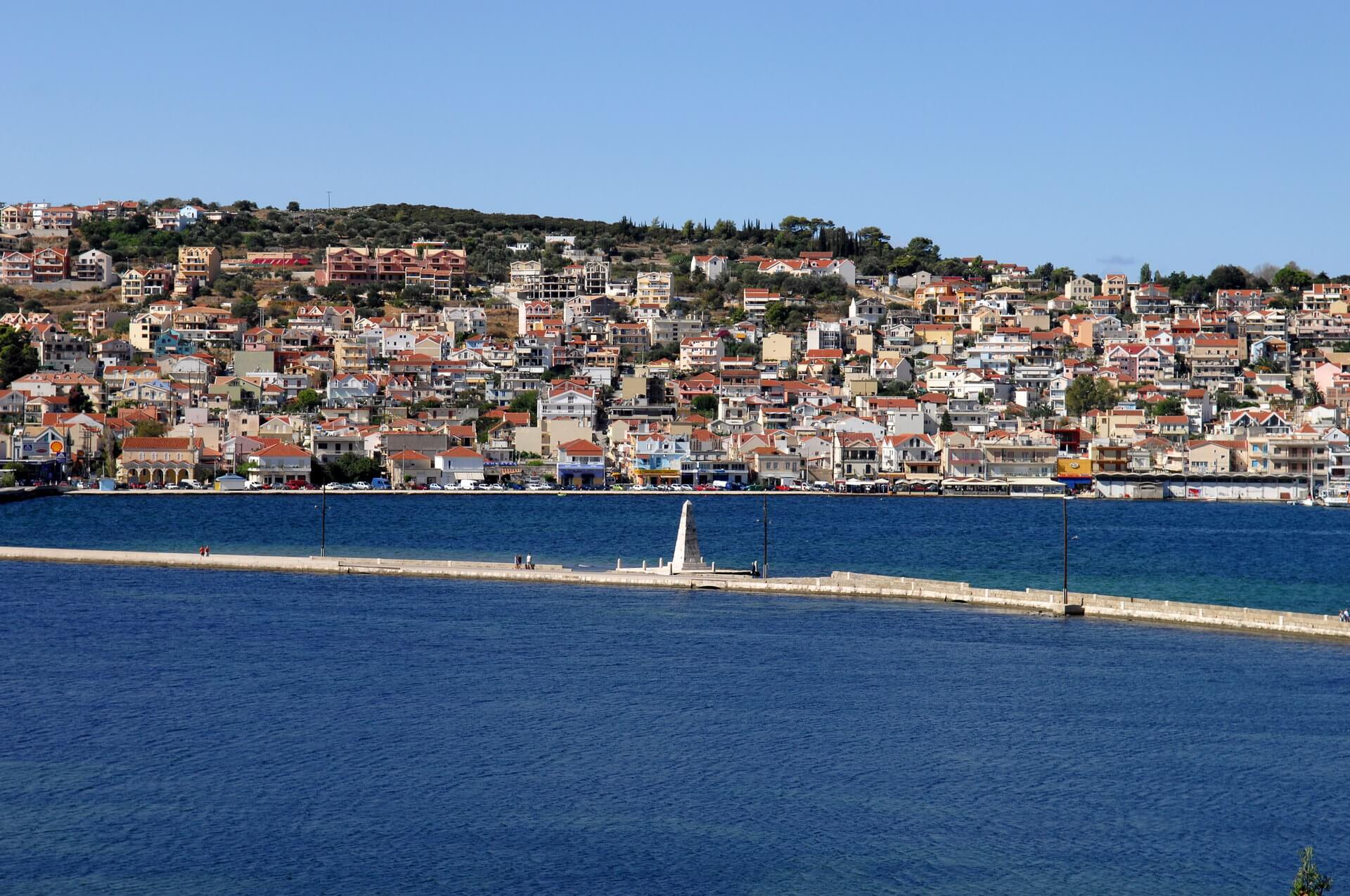 Deboset Bridge at Argostoli Kefalonia