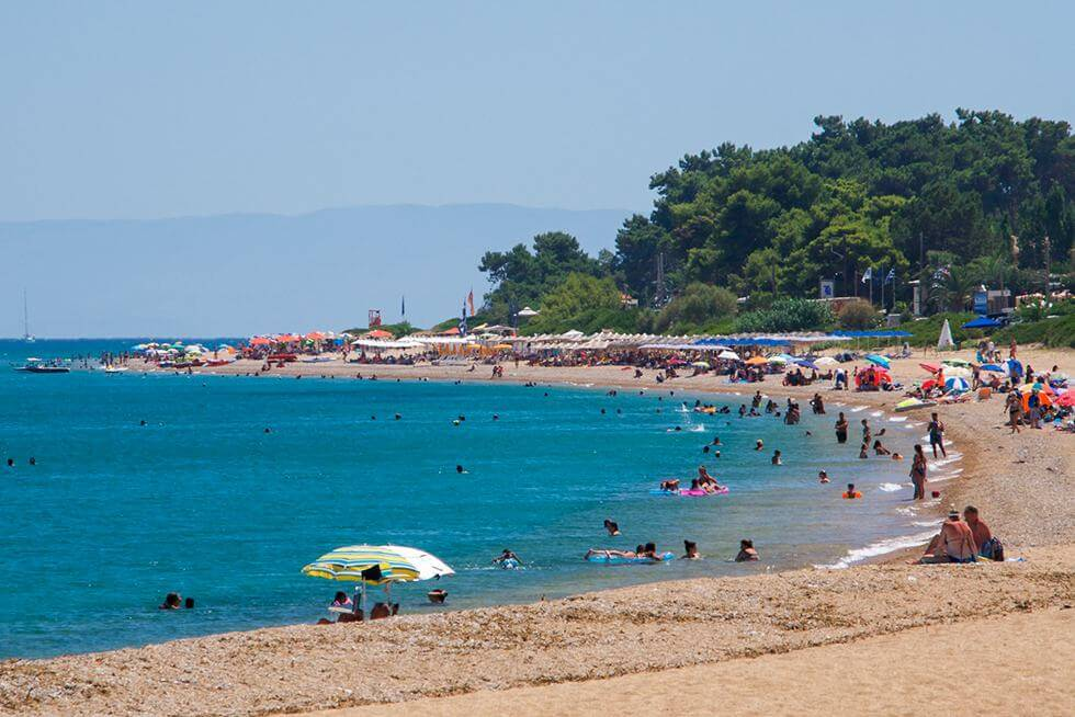 Skala beach at Kefalonia