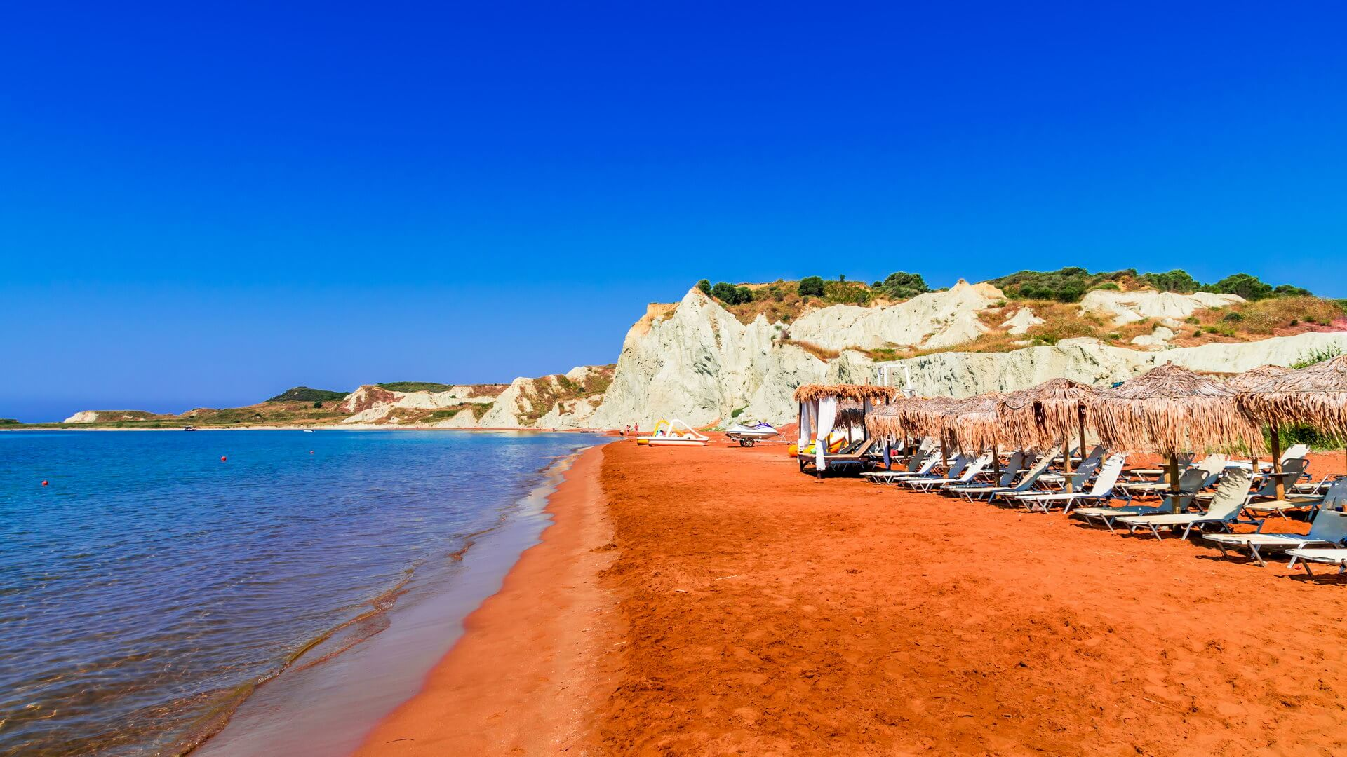 Xi beach at Lixouri Kefalonia